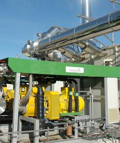 Unité de valorisation du biogaz Valoparc