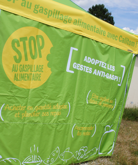 Stand gaspillage alimentaire